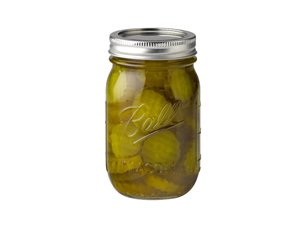 Ball Pint (16 oz) Regular Mouth Mason Jars Set of 12