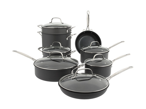 Cuisinart 14-Piece Classic Non-Stick Hard Anodized Cookware Set