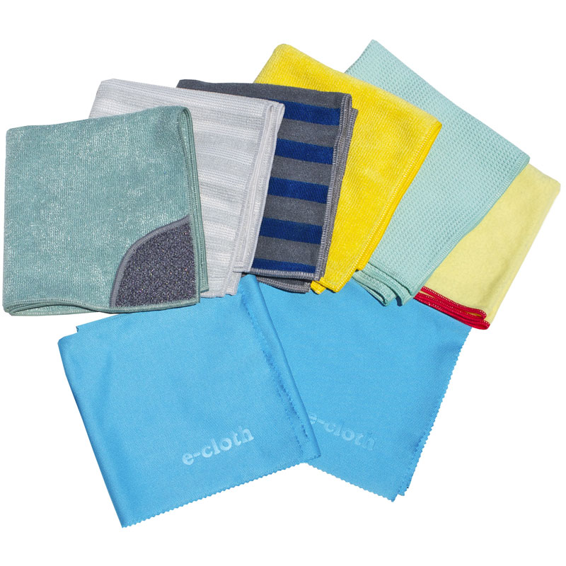 E-Cloth 8 Piece Cleaning Set