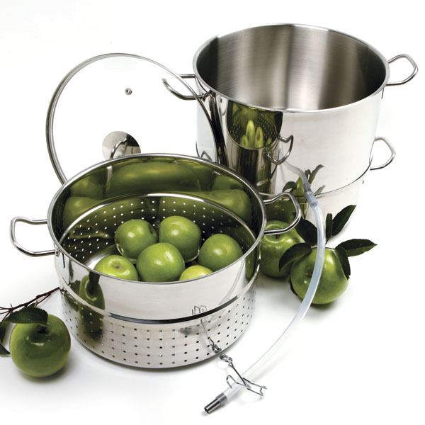 Norpro Stainless Steel Steamer Juicer