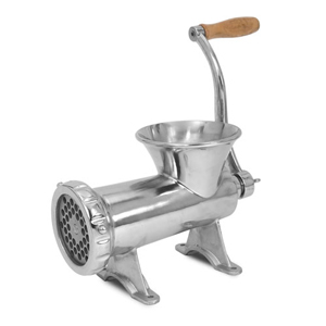 Manual Meat Grinder (Stainless Steel)