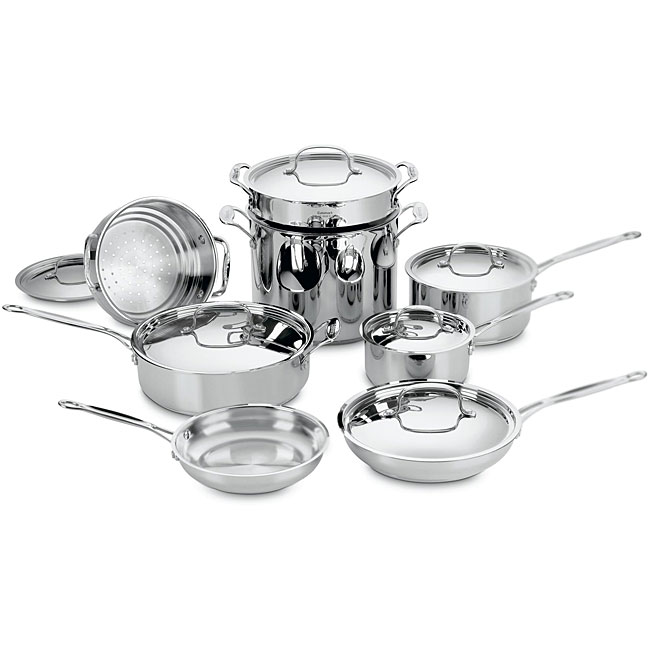 Cuisinart Stainless Steel Cookware Set 14pc